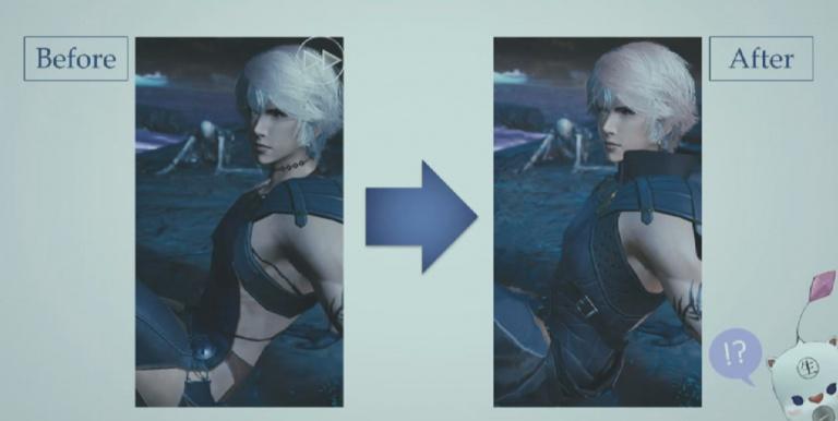 Mevius Final Fantasy : Un héros jugé trop dénudé et du gameplay !
