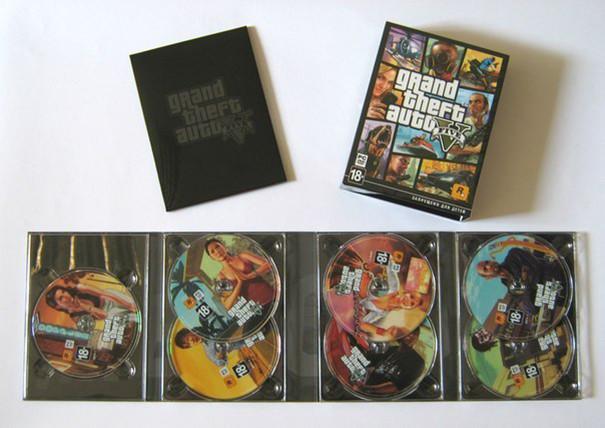 7 DVD pour Grand Theft Auto V sur PC