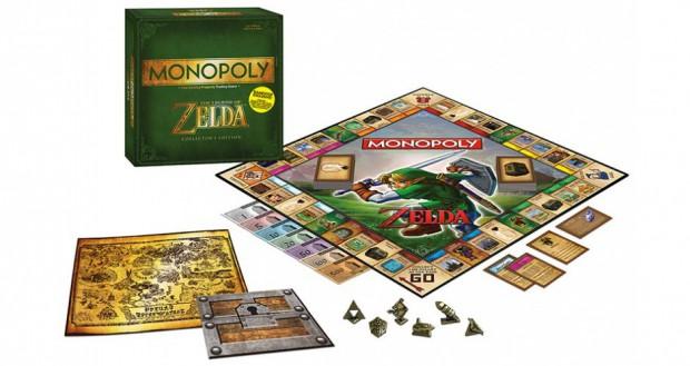 L'édition collector française de Monopoly Zelda de nouveau en stock