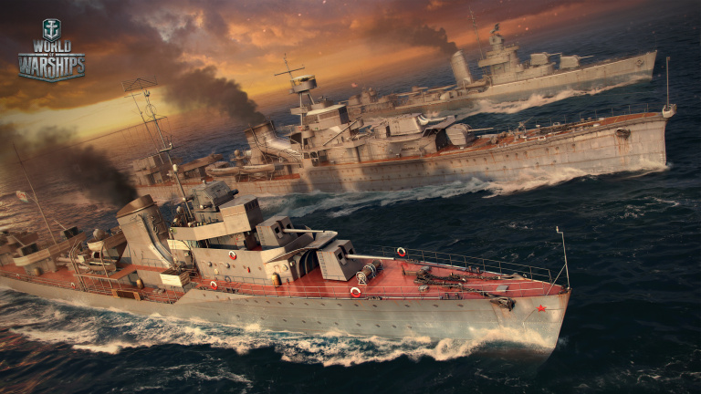 World of Warships lance ses packs de précommande