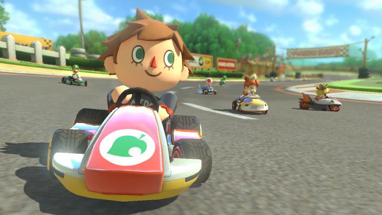 Mario Kart 8 - Présentation des courses du DLC Animal Crossing en vidéo
