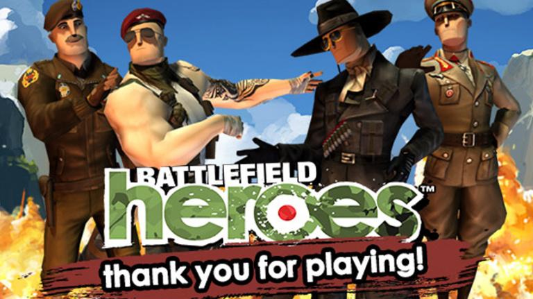 Fin de partie pour Battlefield Heroes