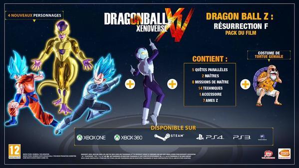 "Un DLC ""Résurrection de Freezer"" pour Dragon Ball Xenoverse"