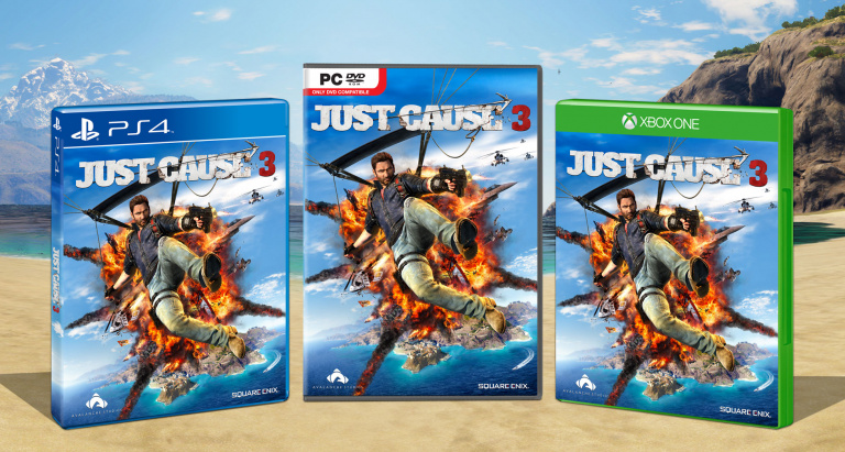 Just Cause 3 : Une jaquette et un trailer à venir