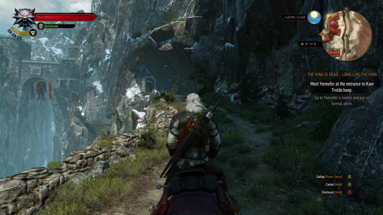 The witcher 3 d voile des captures d 39 cran en jeu for Capture 2cran