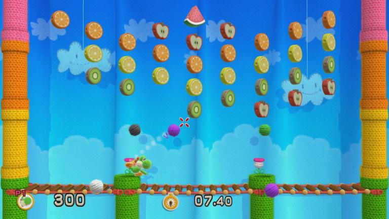 Yoshi's Woolly World pèse un peu trop lourd pour la Wii U 8 Go