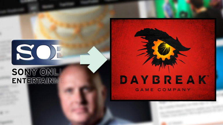 Daybreak Games (ex-SOE) dévoile sa nouvelle identité visuelle