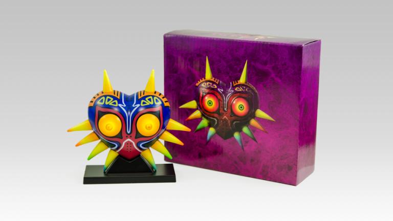 Une lampe Majora's Mask sur le Club Nintendo