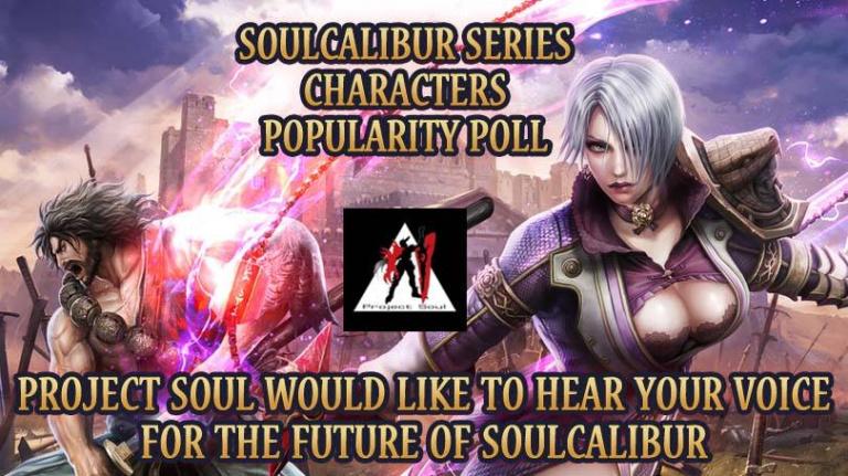 SoulCalibur : Votez pour votre personnage préféré