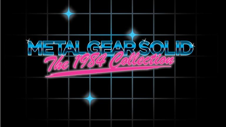 Konami fait un mystérieux teasing sur Metal Gear Solid : The 1984 Collection