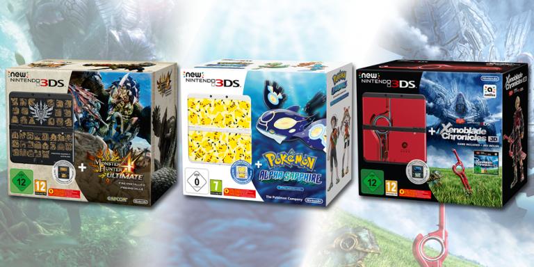Trois nouveaux packs pour la Nintendo New 3DS