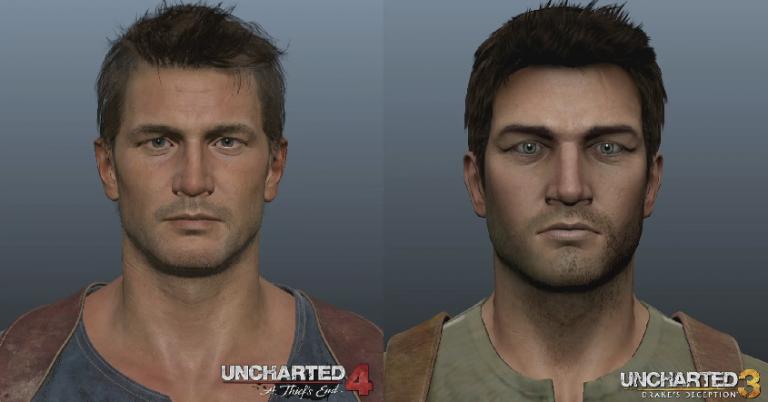 Uncharted 4 : Des visages cinq fois plus détaillés que dans The Last of Us