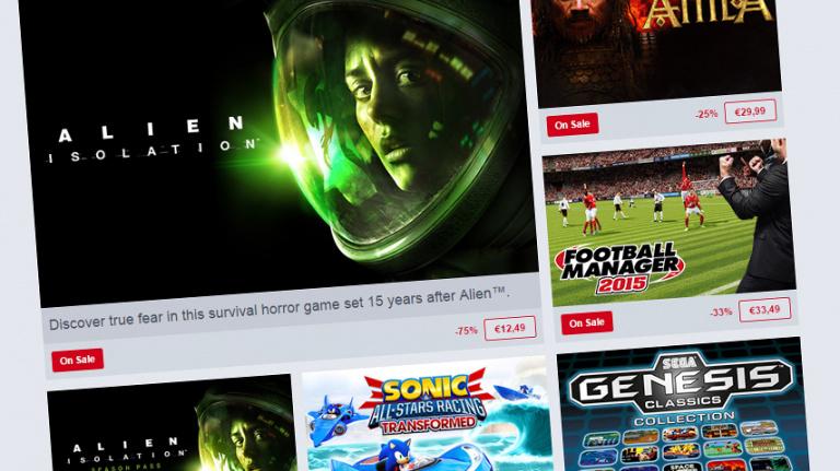 Des soldes Sega sur le Humble Store