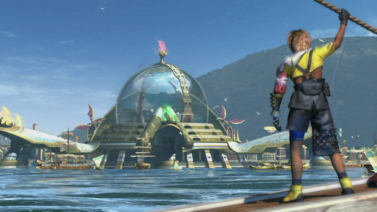 Final Fantasy X / X-2 HD, encore plus beau