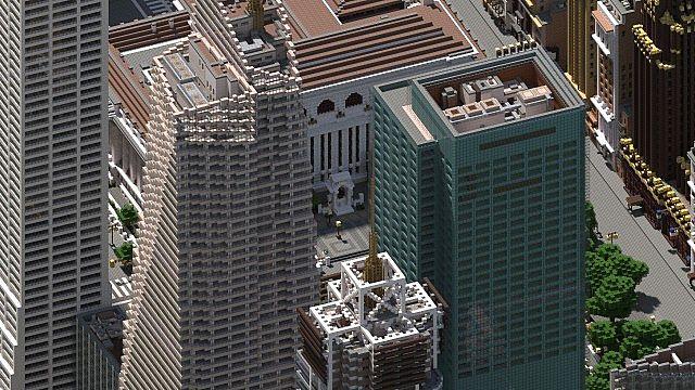 Minecraft : Le projet Manhattan