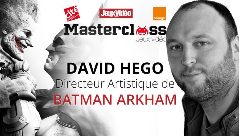 En live : Le directeur artistique de Batman Arkham Knight est l'invité de la Masterclass Jeux Vidéo