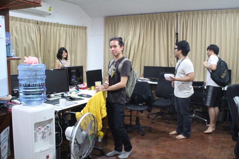 Le jeu vid o en tha lande la thai game academy for Idees lucratives