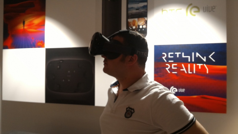 HTC Vive : La réalité virtuelle telle qu'on la rêvait, par Valve et HTC