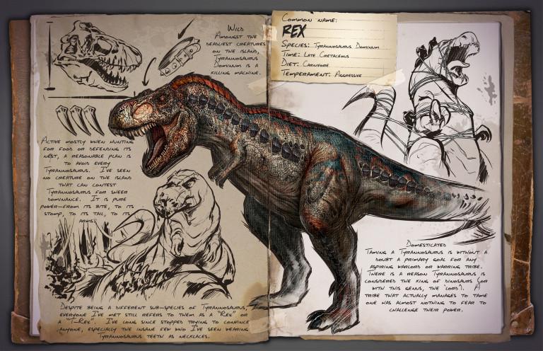 Ark Survival Evolved Le Guide Des Dinosaures Dossier Jeuxvideo Com