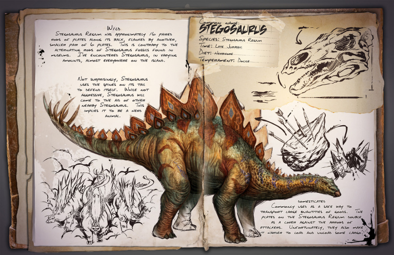 Guide du dressage du Stegosaurus Ark Survival Evolved