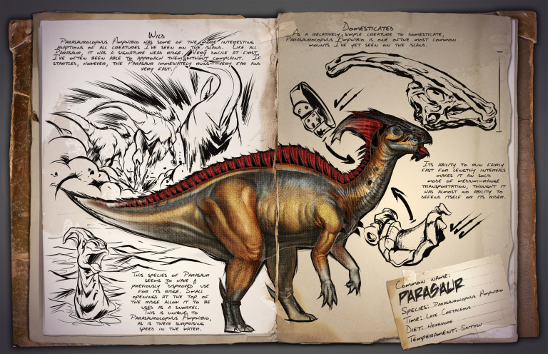 Guide du dressage du Parasaur Ark Survival Evolved