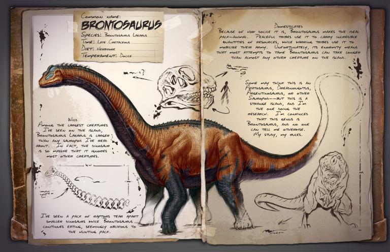 Guide du dressage du Brontosaur Ark Survival Evolved