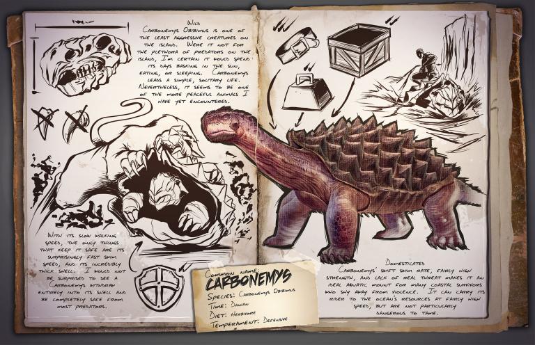 Guide du Dressage du Carbonemys Ark Survival Evolved