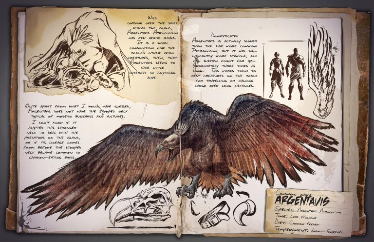 Guide du dressage de l'Argentavis Ark Survival Evolved