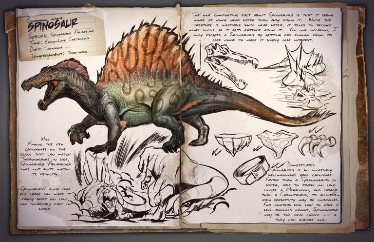 RécARK : Spinosaure, optimisations et communisme