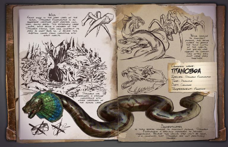 Guide du dressage de la Faune inconnue Ark Survival Evolved