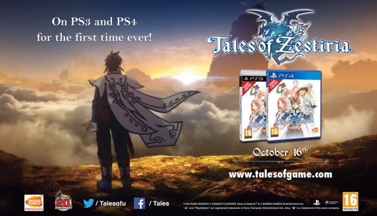 Tales of Zestiria annonce ses dates de sortie PS3, PS4 et PC