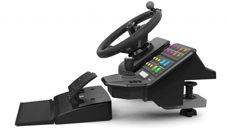 Un volant/pédalier pour Farming Simulator