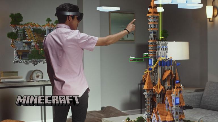 E3 2015 : Démonstration de force de l'Hololens avec Minecraft