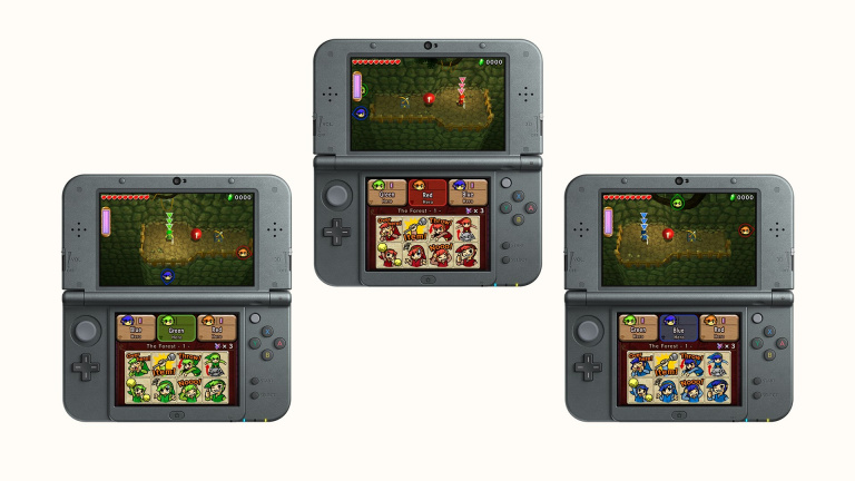 E3 2015 : The Legend of Zelda Tri Force Heroes se dévoile sur 3DS