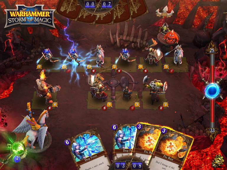 Warhammer: Storm of Magic se dévoile sur Mobile