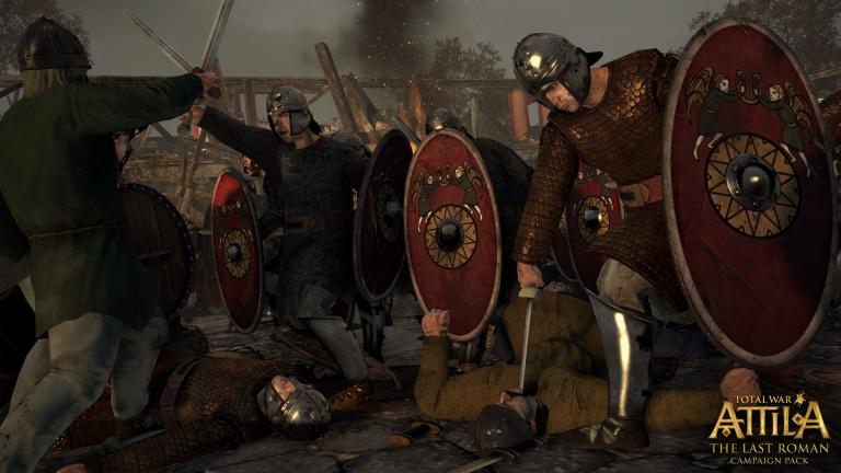 Total War : Attila s'enrichit d'un DLC gratuit et d'une extension