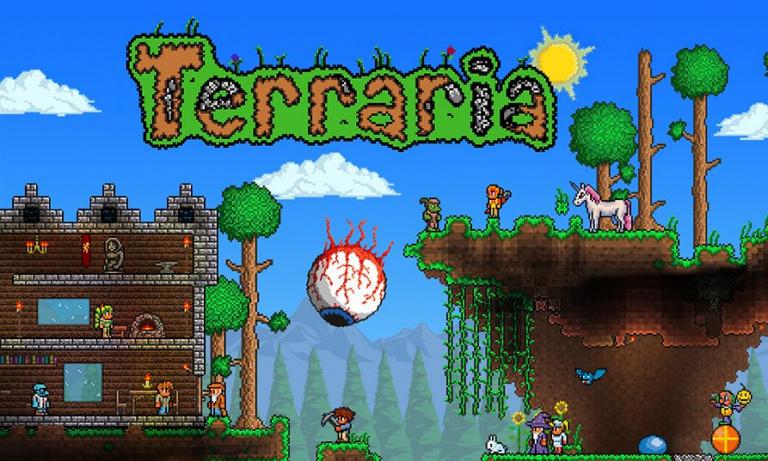 Terraria décuple son activité !