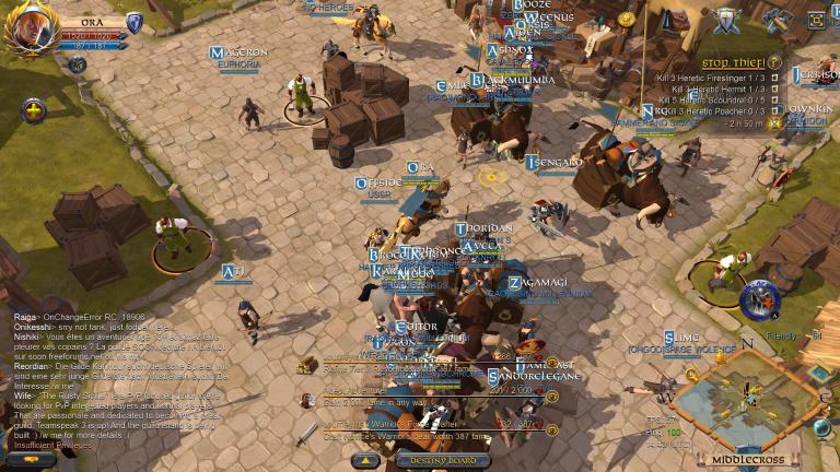Albion Online - L'expérience sandbox totale : On fait le point