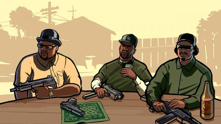GTA San Andreas se met en boîte sur Xbox 360