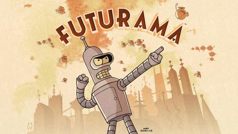 Futurama, la série TV, débarque sur mobiles