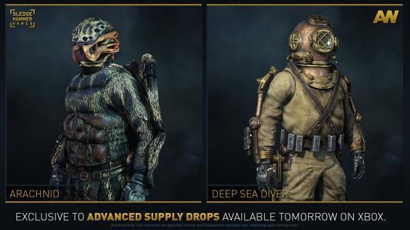 Des armures délirantes pour Call of Duty : Advanced Warfare