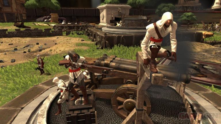 Ezio Auditore s'affiche dans Toy Soldiers : War Chest
