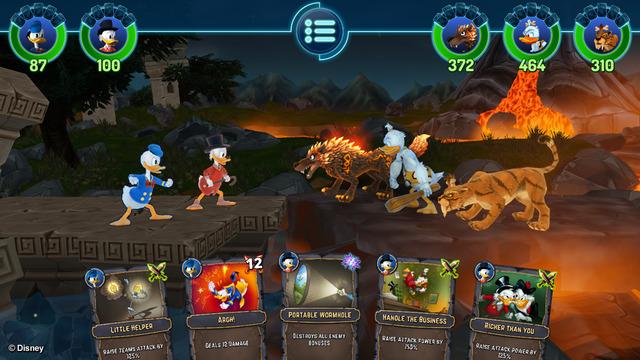 """The Duckforce Rises : Le RPG """"canard"""" de Disney sur mobiles"""