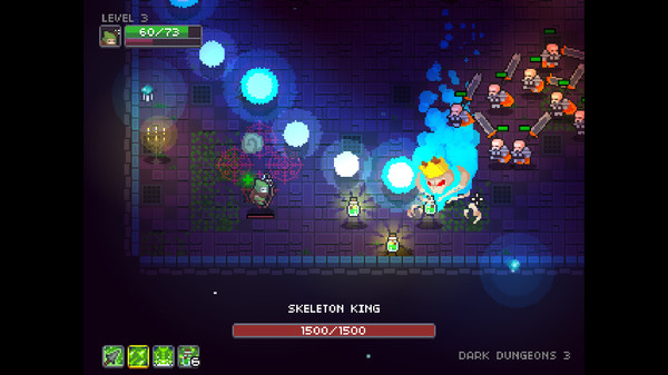 Dungeon Souls : Un petit hack'n slash aux notes pixelisées