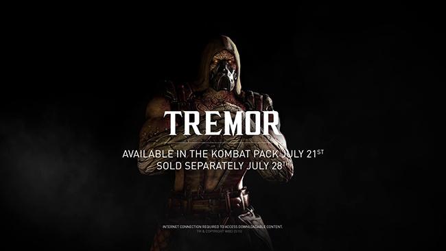 Le trailer sanglant de Tremor pour Mortal Kombat X