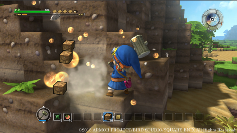 Dragon Quest Builders : Un RPG à la sauce Minecraft tout mimi - TGS