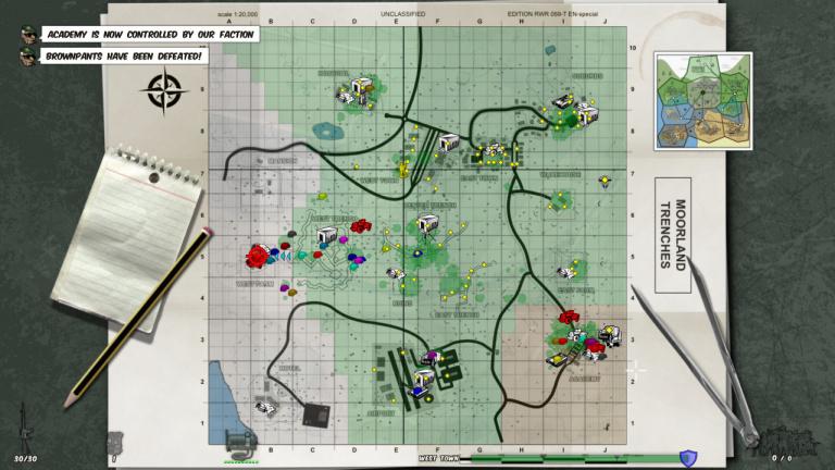La carte est vraiment facile à comprendre