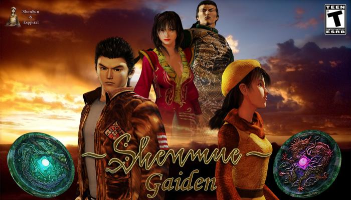 Shenmue Gaiden : un visual novel réalisé par des fans