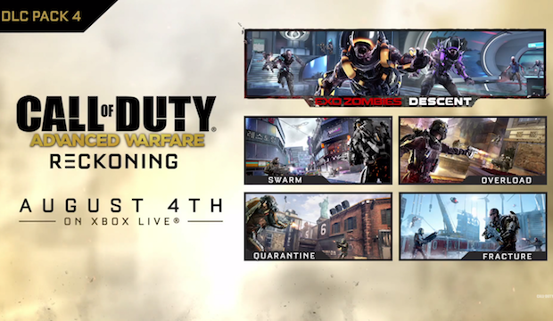 Call of Duty Advanced Warfare : le 4è DLC daté sur Xbox One et 360
