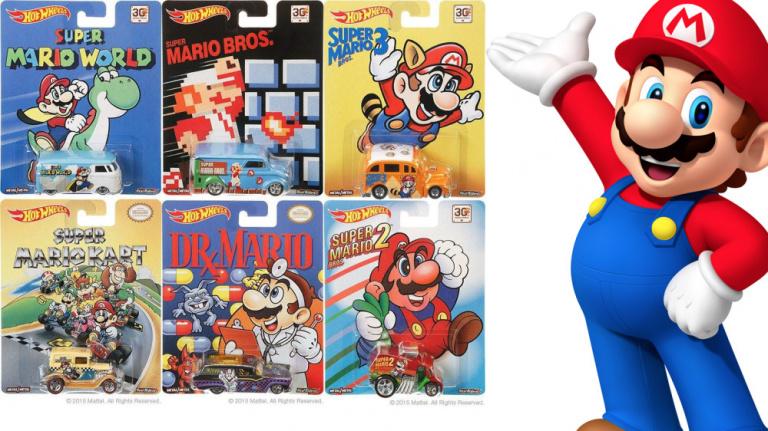 Les 30 ans de Mario fêtés avec des voitures Hot Wheels ?